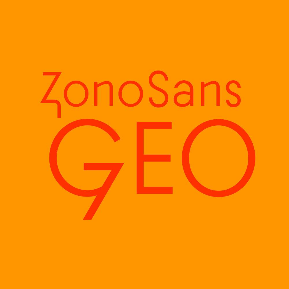 Zonosans Typeface
